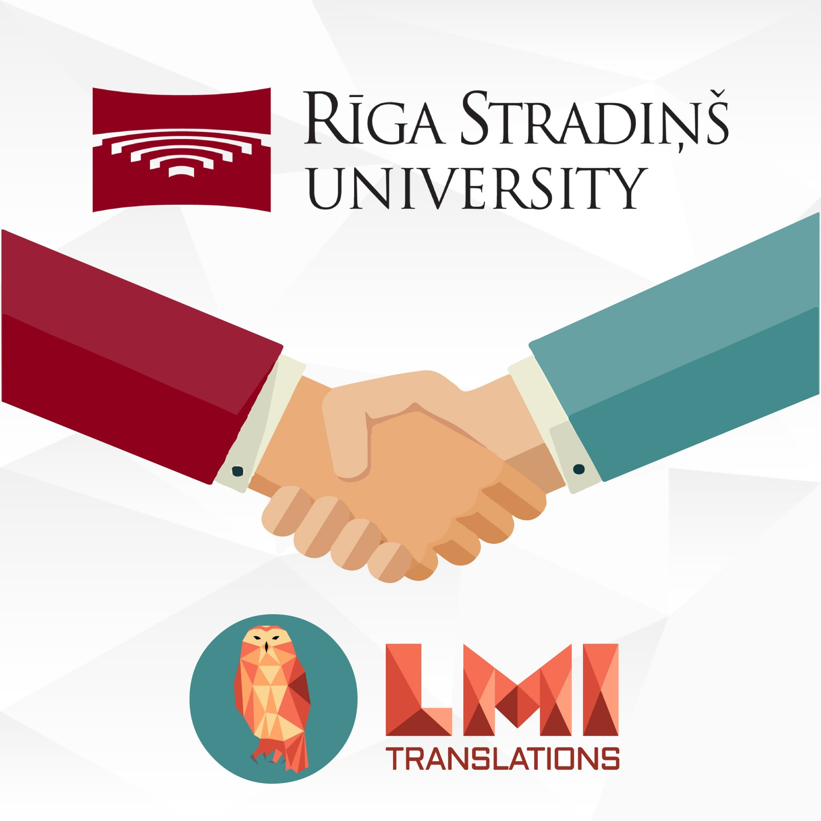 IN 2020, LMI TRANSLATIONS WAS AWARDED A CONTRACT WITH RĪGA STRADIŅŠ UNIVERSITY FOR THE PROVISION OF TRANSLATION SERVICES