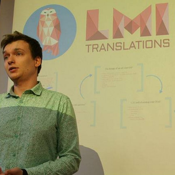 The Technical Director of LMI Translations visits the Faculty of Humanities of the University of Latvia for the second time